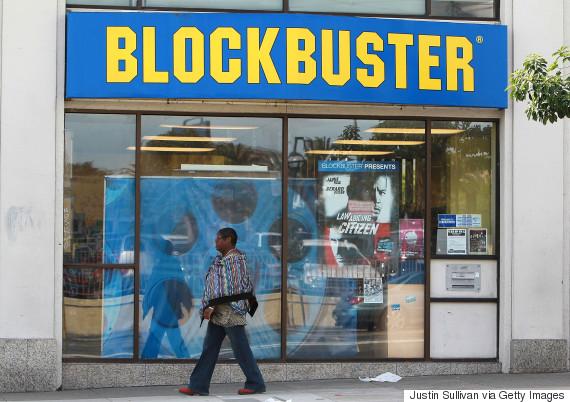 blockbuster rental shop
