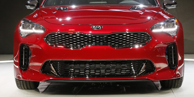 The 2018 Kia Stinger is introduced during the North American International Auto Show in Detroit, Michigan, U.S., January 9, 2017. REUTERS/Brendan McDermid