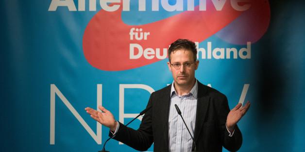 Marcus Pretzell ist der Landeschef der AfD in NRW, Mitglied des Europäischen Parlaments - und der Mann von Frauke Petry
