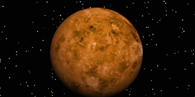 Digital Illustration of Planet Venus