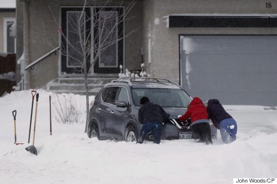 winnipeg snow