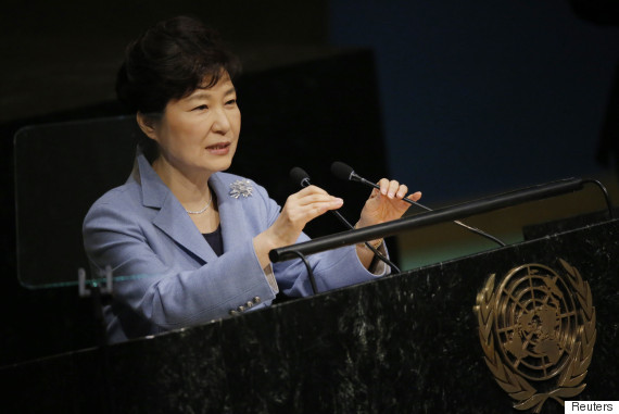 park geun hye address