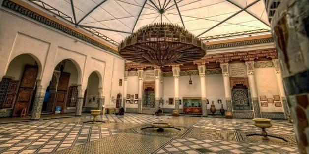 La cuve d'ablution du musée Dar Si Saïd conservée au MMVI