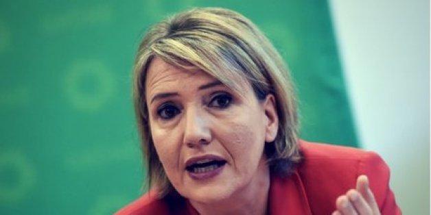 Grünen-Chefin Simone Peter musste nach ihrer Polizei-Schelte zuletzt viel Kritik einstecken