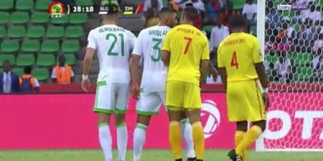 CAN-2017: Match nul entre l'Algérie et le Zimbabwe
