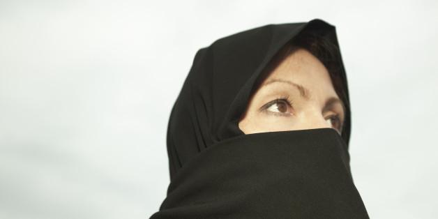 Eine Frau in einer Burka (Symbolbild)