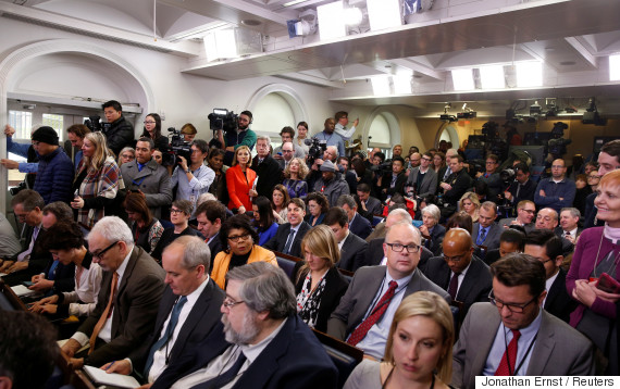 white house press