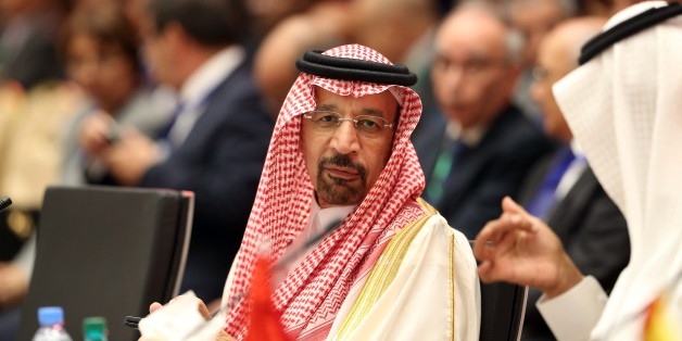 The Saudi Oil Minister Khaled al-Faleh attends the 15th International Energy Forum in Algiers on September 27, 2016, on the eve of an informal OPEC meeting the next day. Saudi Arabia's energy minister said he was optimistic that OPEC oil ministers would reach a 'common view' on the international market at their meeting in Algiers on September 28. (Photo by Billal Bensalem/NurPhoto via Getty Images)