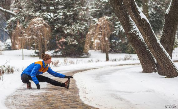 deporte y frío