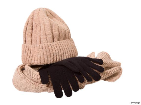 gorro guantes
