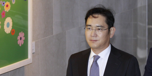 Lee Jae Yong of Samsung group vice chairman arrives during the President political scandal parliament hearing at national assembly in Seoul, South Korea. South Korean President Park Geun-hye, engulfed in an influence peddling scandal, said if she was impeached she would wait for a court to uphold the decision, a party official said on Tuesday, a sign a political crisis could drag on for months. (Photo by Seung-il Ryu/NurPhoto via Getty Images)