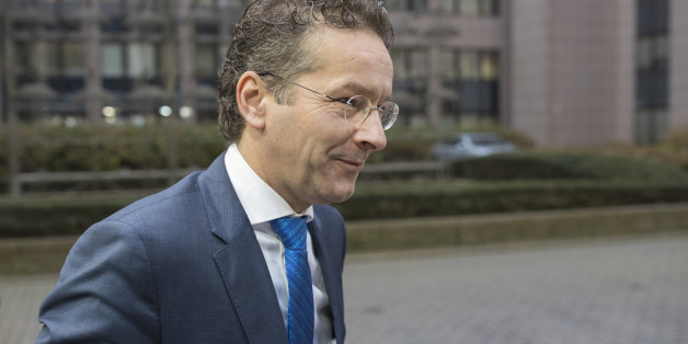 Jeroen Dijsselbloem, Dutch finance minister and head of the group of euro-area finance ministers, arrives for an Ecofin meeting of European Union (EU) finance ministers in Brussels, Belgium, on Tuesday, Dec. 6, 2016. The euro-area economy expanded at the fastest pace this year in November as companies took on workers and kept political concerns at bay. Photographer: Jasper Juinen/Bloomberg via Getty Images