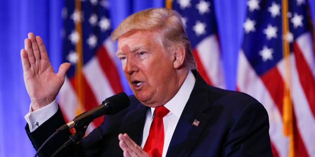 Der gewählte Präsident Donald Trump ändert seine Meinung zu Russland und dem Präsidenten Vladimir Putin