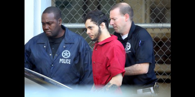 Esteban Santiago is taken from the Broward County main jail as he is transported to the federal courthouse in Fort Lauderdale on Tuesday, Jan. 17, 2017. Santiago is accused of killing five people and wounding six others in the Fort Lauderdale airport shooting and faces federal charges involving murder, firearms and airport violence. (Amy Beth Bennett/South Florida Sun Sentinel/TNS via Getty Images)