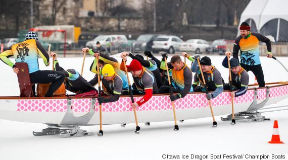 ice dragon boat