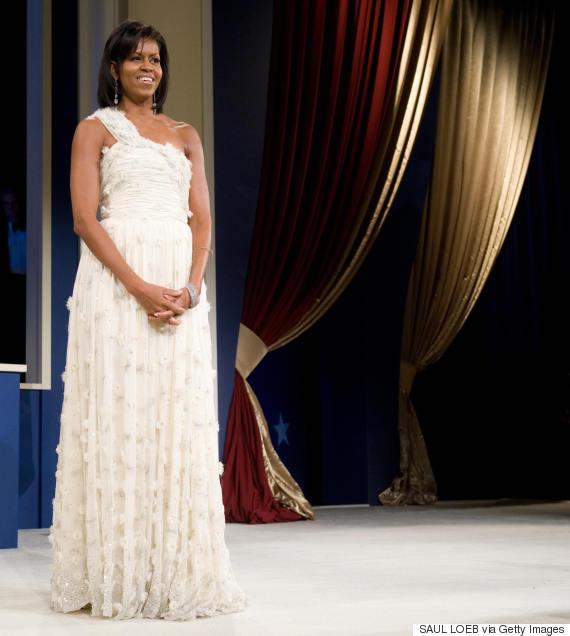 michelle obama inaugural