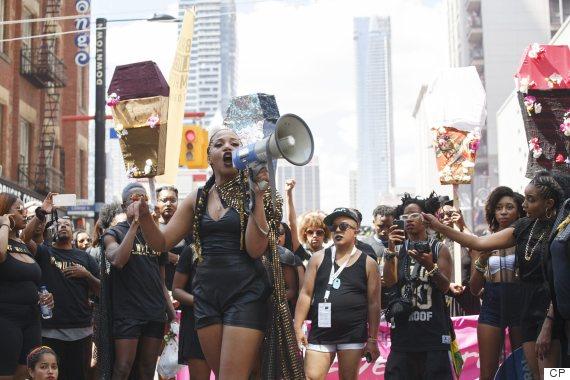 pride toronto black lives matter