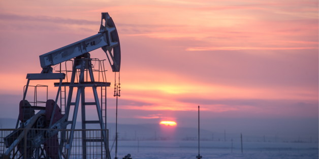 TATARSTAN, RUSSIA - JANUARY 18, 2017: An oil derrick in Almetyevsk District. Yegor Aleyev/TASS (Photo by Yegor Aleyev\TASS via Getty Images)