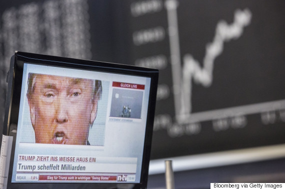 donald trump stock exchange