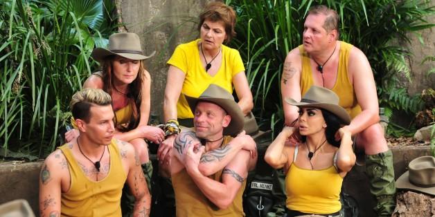 Dschungelcamp: Fräulein Menke ist draußen