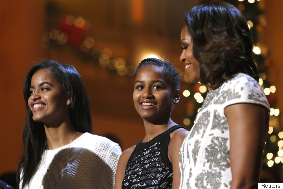 michelle obama sasha malia