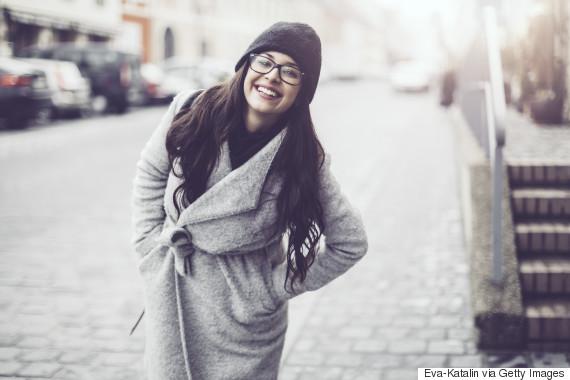 winter style black woman