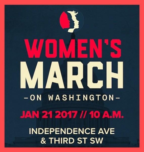 marcha de mujeres trump