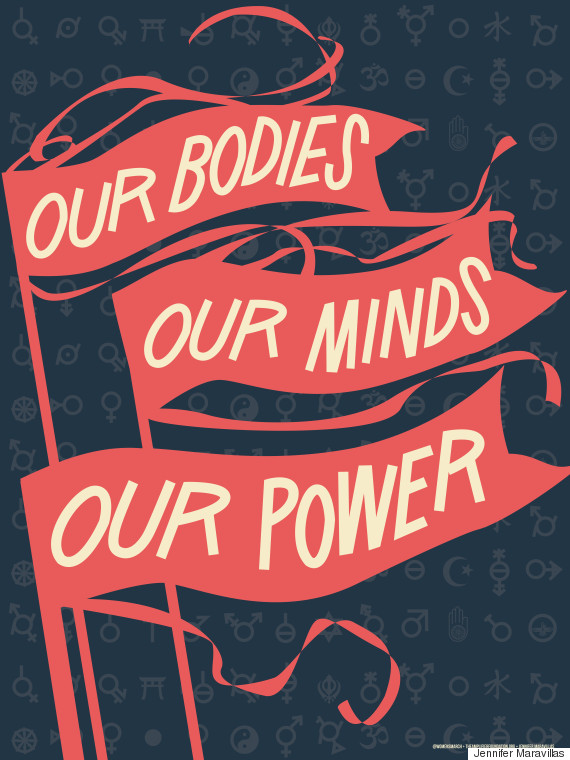 our bodies protest sign