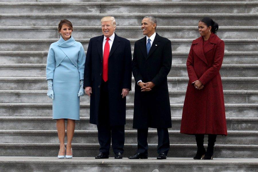 obamas y trump