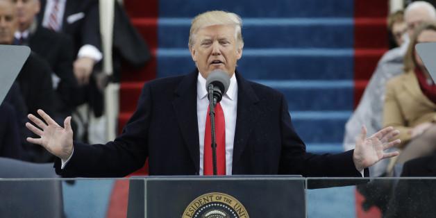Das Urteil der Presse über Donald Trumps Antrittsrede fällt eindeutig aus