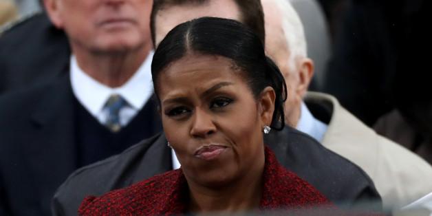 Michelle Obamas Gesicht spricht Bände - und die Menschen fühlen mit ihr