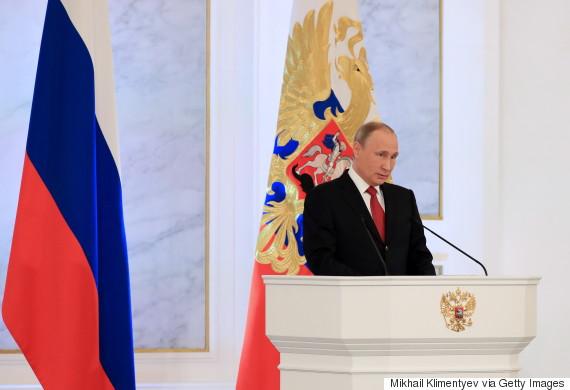 russian flag putin