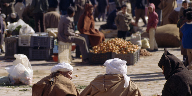ALGERIA - MAY 11: View of Ghardaia market, Algeria. (Photo by DeAgostini/Getty Images)