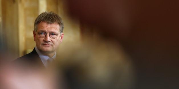 Der Fraktionsvorsitzender der AfD im baden-württembergischen Landtag, Jörg Meuthen