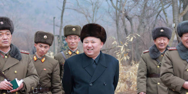 North Korean leader Kim Jong Un inspects a sub-unit under KPA Unit 233, in this undated photo released by North Korea's Korean Central News Agency (KCNA) in Pyongyang January 19, 2017. KCNA/via Reuters ATTENTION EDITORS - THIS PICTURE WAS PROVIDED BY A THIRD PARTY. REUTERS IS UNABLE TO INDEPENDENTLY VERIFY THE AUTHENTICITY, CONTENT, LOCATION OR DATE OF THIS IMAGE. FOR EDITORIAL USE ONLY. NO THIRD PARTY SALES. SOUTH KOREA OUT.