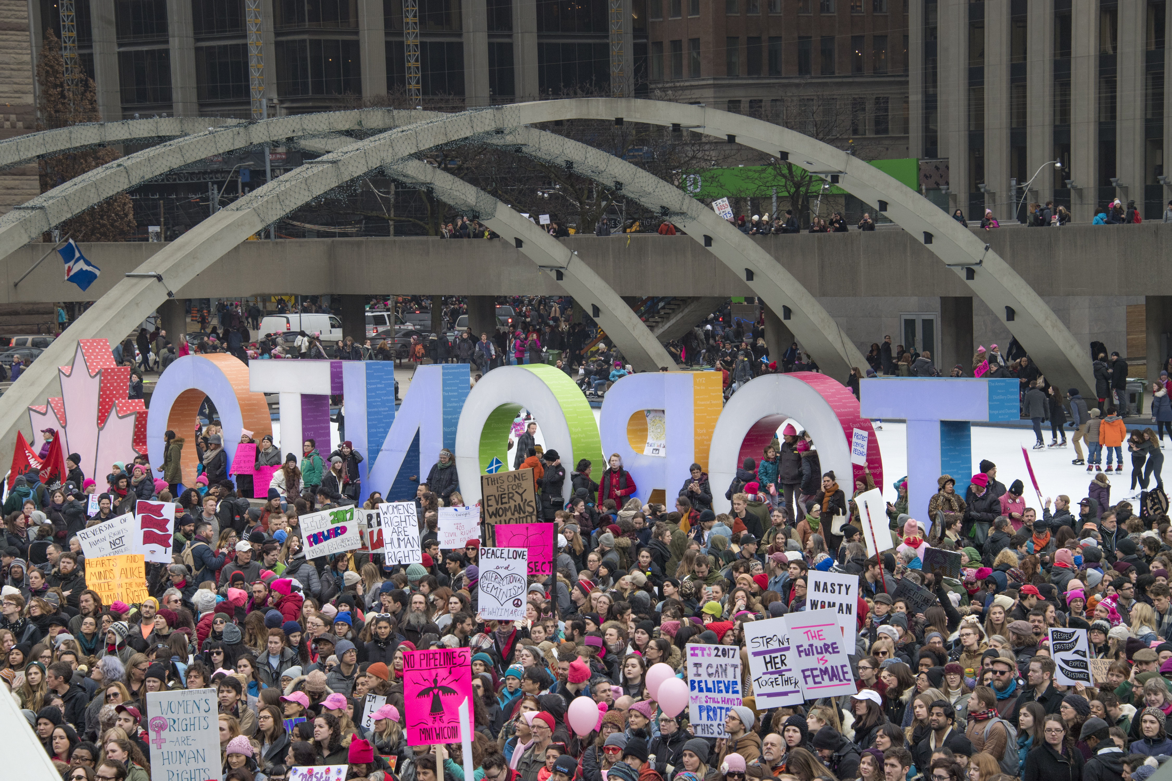 womens march toronto