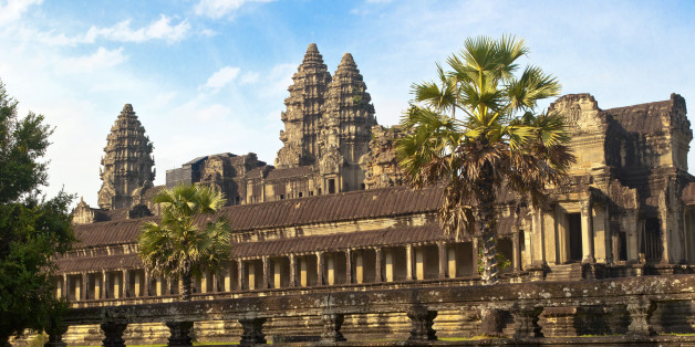 Angkor Wat, located in Siem Reap Cambodia