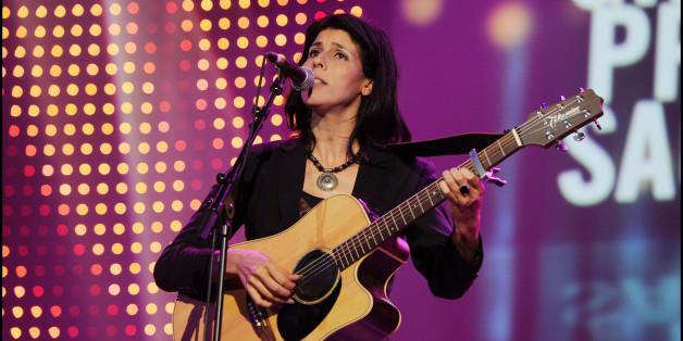 Souad Massi performs onstage during the 'Grand Prix Sacem 2011', at 'Le Casino de Paris', in Paris. (Photo by Stephane Cardinale/Corbis via Getty Images)