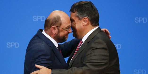 """""""Ein wahrhaft großer Politiker"""": So reagieren Politiker auf den Gabriel-Hammer"""