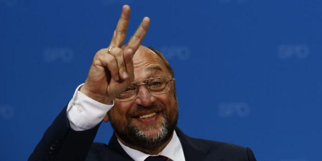 Der neue Kanzlerkandidat der SPD, Martin Schulz