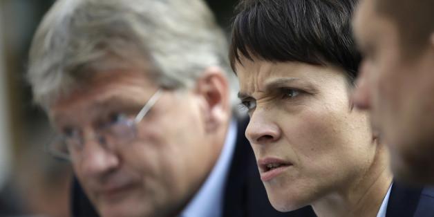 Die AfD um Frauke Petry rechnet mit einem Bundestagswahlergebnis von bis zu 15 Prozent