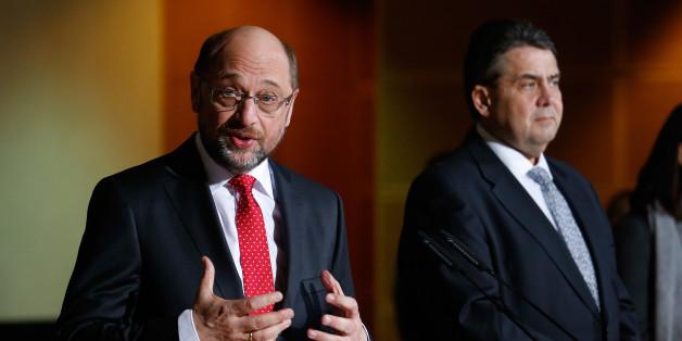 Die ersten Worte von Gabriel und Schulz nach der K-Entscheidung zeigen, warum sie richtig war