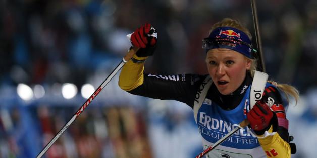 Miriam Gössner startet am Mittwoch bei der Biathlon-EM