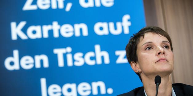 Frauke Petry will das Grundrecht auf Asyl abschaffen