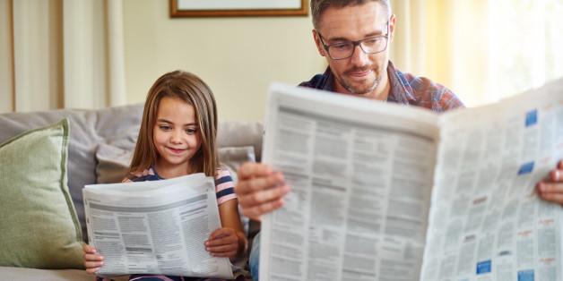 Das Vertrauen in die deutschen Medien ist deutlich gestiegen - frühes Zeitungslesen ist dabei sicherlich nicht abträglich