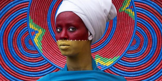 """""""City Life"""" 2016, Oeuvre de l'artiste éthiopienne Aida Muluneh"""