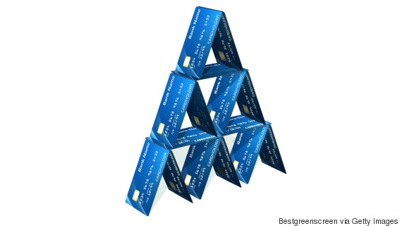 a house of credit cards