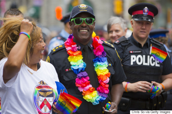 police pride parade toronto