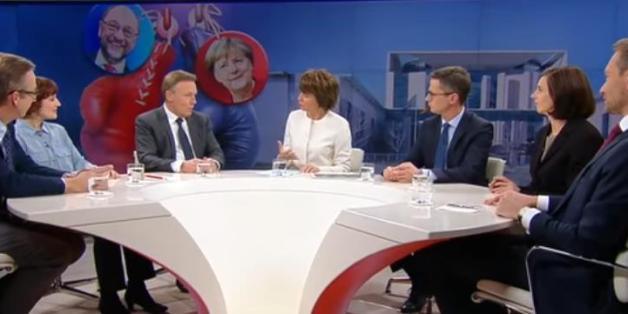 Illners Sendung wurde am Sonntag zur Plattform für Koaltionsverhandlungen