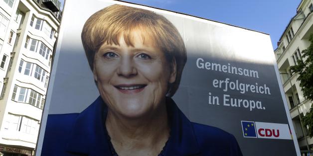 Wahlplakat von 2014 - für die Bundestagswahl 2017 will Jung von Matt die Kampagne für Merkel machen